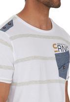 Smith & Jones - Walworth T-shirt White
