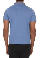Fire Fox - Contrast Golfer Mid Blue