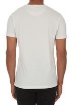 Crosshatch - Sunrise Hands T-shirt Stone