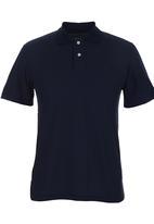 edited - Golf Shirt Knit Collar Navy