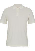 edited - Golf Shirt Knit Collar White