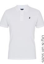 POLO - Classic Golfer White