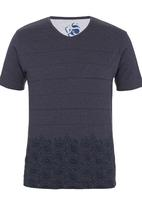 Pride & Soul - Vicente T-shirt Dark Blue