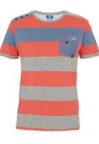 Smith & Jones - Ladbroker T-shirt Coral