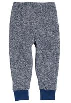 Sam & Seb - Leggings With Knee Patches Mid Blue