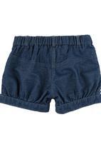 TORO CLOTHING - Shorts Dark Blue Black Denim