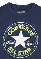 Converse - Boys Chuck Patch T-shirt Navy