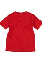 Converse - Converse-print T-shirt Red
