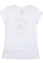 Converse - T-shirt with All Star Print