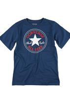 Converse - Boys Chuck Patch T-shirt Navy