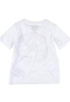 Converse - T-shirt with American Converse Logo White