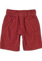 Converse - Drawstring Shorts Red