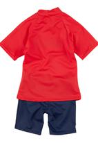 Sun Things - Rash Vest and Surf Pants Red