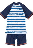 Sun Things - Rash Vest and Surf Pants Mid Blue