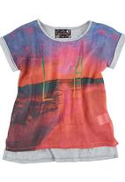 Twin Clothing. - LA Girl Top Multi-Colour