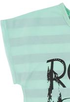 Twin Clothing. - Rock Out Girl Top Light Green