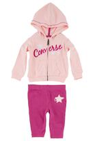 Converse - 5-piece Clothing Set Mid Pink