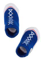 Converse - Converse Sneaker Baby Booties Mid Blue