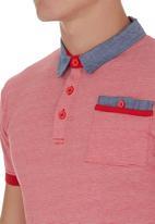 Fire Fox - Pocket-detail Golfer Red
