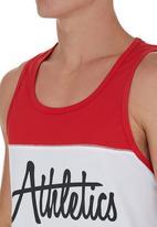 edge - Colourblocked Performance Vest Red