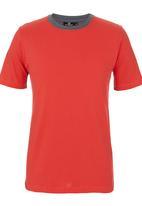 STYLE REPUBLIC - Colourblock T-shirt Coral
