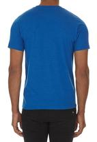 Hurley - One and only core heather tee Mid Blue