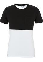 STYLE REPUBLIC - Crew-neck T-shirt Black