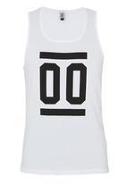 edge - Fashion Vest White