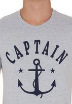 STYLE REPUBLIC - Anchor T-shirt Grey