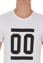 edge - Number T-shirt White
