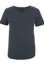 S.P.C.C. - Cut & Sew T-shirt Grey
