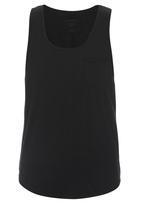 S.P.C.C. - Cut and Sew T-shirt Black