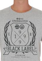 Crosshatch - Snowgo T-shirt Grey