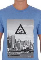 555 Soul - Manhattan Crew T-shirt Green