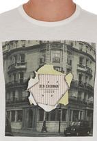Ben Sherman - City-print T-shirt Milk