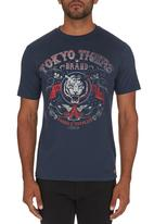 Tokyo Tigers - Kinrowan T-shirt Navy