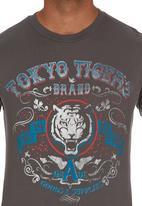Tokyo Tigers - Kinrowan T-shirt Grey Dark Grey
