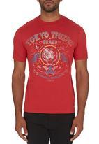 Tokyo Tigers - Kinrowan T-shirt Red