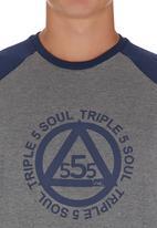 555 Soul - Minnesota Tee Blue and Grey