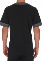 STYLE REPUBLIC - Baseball Style Shirt Black