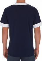 STYLE REPUBLIC - Baseball-style T-shirt Navy