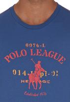 POLO - League T-shirt Blue