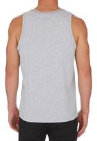 RVCA - Athletic heather VA all the way reflective tank  Grey