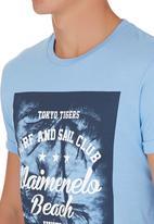 Tokyo Tigers - Macuro T-shirt Blue