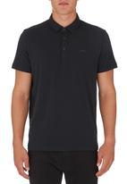 RVCA - Sure Thing Polo Shirt Black