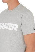 Starter - Logo tee Grey