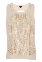 G Couture - Metallic printed vest