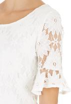 Suzanne Betro - Lace Blouse White