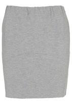 Leigh Schubert - Hop Mini Skirt Pale Grey Pale Grey