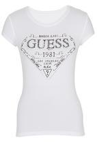 GUESS - Nash Logo T-shirt White